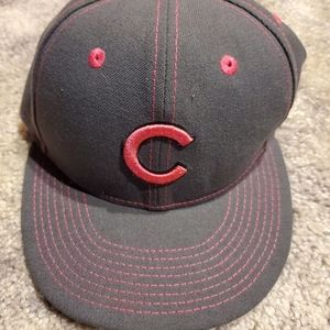 Pink And Gray New Era Fitted Chicago Cubs Hat
